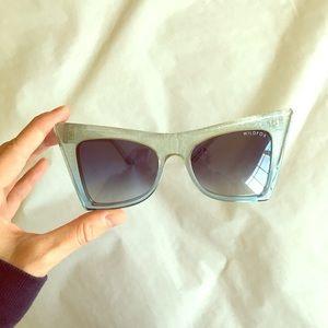 Wildfox Ivy blue gradient sunglasses